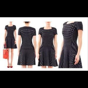 diane von furstenberg Hansine wool blend dress